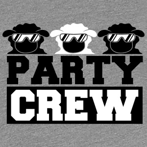 Party Crew Sheeps T-shirts - Dame premium T-shirt