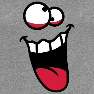 Crazy Face T-Shirts - Frauen Premium T-Shirt