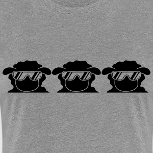 Cool Sheeps T-Shirts - Frauen Premium T-Shirt