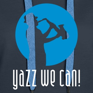 jazz_we_can_b_2c Sweatshirts - Dame Premium hættetrøje