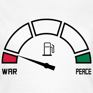 war peace T-Shirts - Women's T-Shirt