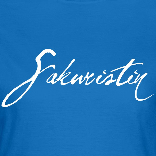 "Frauen T-Shirt ""Sakuristin"""