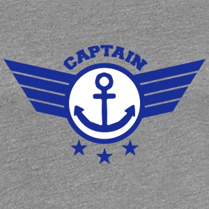 Anchor Captain T-Shirts - Women's Premium T-Shirt
