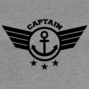 Anchor Captain T-shirts - Dame premium T-shirt
