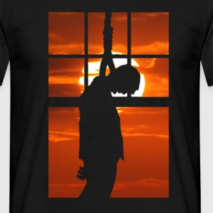 Hang Man - Hanged at sunset T-Shirts - Men's T-Shirt