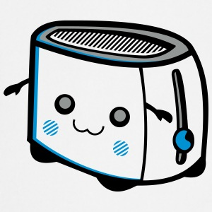 Kawaii-Designs: Toaster Kookschorten - Keukenschort
