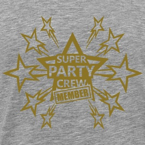 Super Party Crew Member T-shirts - Mannen Premium T-shirt