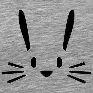 Bunny Face Tee shirts - T-shirt Premium Homme