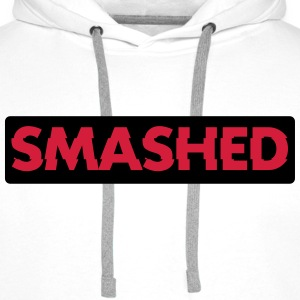 Smashed Sweaters - Mannen Premium hoodie