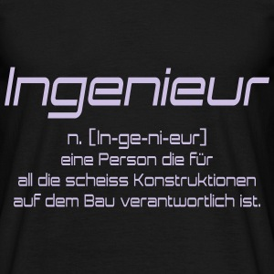 ingenieur T-shirts - Herre-T-shirt