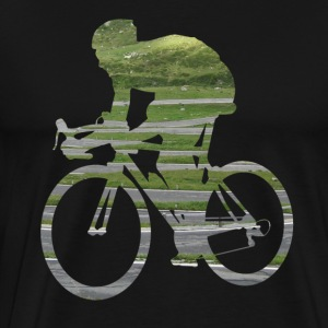 Cykel Sports - Racing ned ad gaden. 02 T-shirts - Herre premium T-shirt
