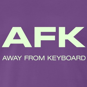 Männershirt AFK away from Keyboard Big Bang - Männer Premium T-Shirt