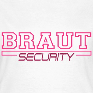 Braut sikkerhed T-shirts - Dame-T-shirt