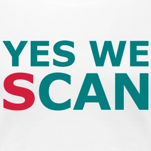 Yes we (s)can T-Shirts - Frauen Premium T-Shirt