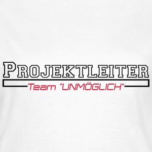 projektleiter T-shirts - Dame-T-shirt