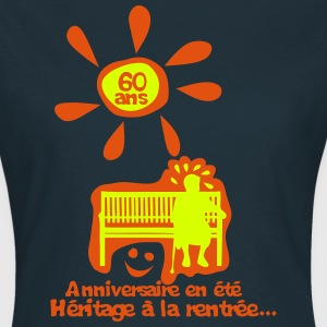 60 ans anniversaire ete heritage rentree Tee shirts - T-shirt Femme