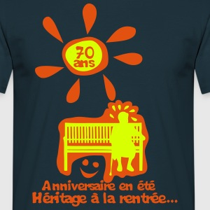 70 ans anniversaire ete heritage rentree Tee shirts - T-shirt Homme
