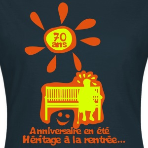 70 ans anniversaire ete heritage rentree Tee shirts - T-shirt Femme