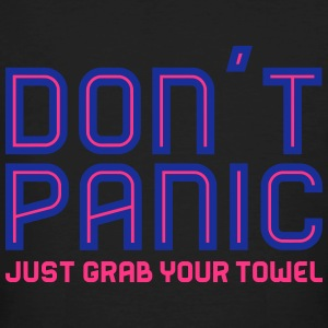 Don't Panic, Just Grab Your Towel 2 T-Shirts - Männer Bio-T-Shirt