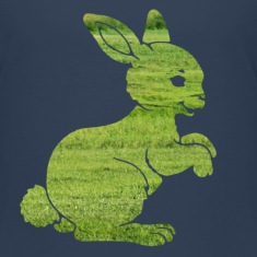 Easter bunny rabbit on the grass Sweet Child Motif Shirts