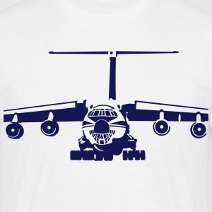 IL-76 transport aircraft Tee shirts - T-shirt Homme