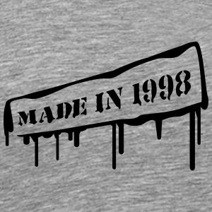 Made In 1998 T-Shirts - Männer Premium T-Shirt
