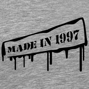 Made In 1997 T-shirts - Mannen Premium T-shirt