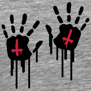 Bloody Handprints T-Shirts - Men's Premium T-Shirt