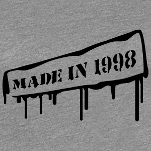 Made In 1998 T-shirts - Vrouwen Premium T-shirt