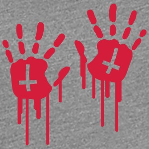 Bloody Handprints T-Shirts - Women's Premium T-Shirt
