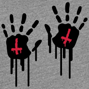 Bloody Handprints T-skjorter - Premium T-skjorte for kvinner
