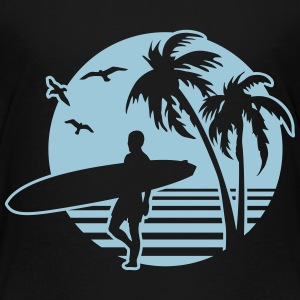 surfers Beach Shirts - Kinderen Premium T-shirt
