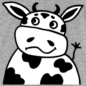 Cow bull - Portait - V2 Shirts - Teenage Premium T-Shirt