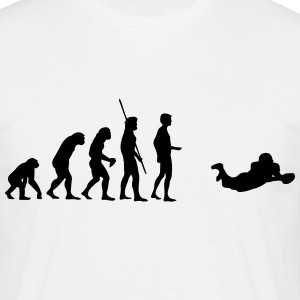 Evolution Touchdown Football T-shirts - Mannen T-shirt