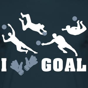 Goalkeeper saves  T-Shirts - Men's T-Shirt