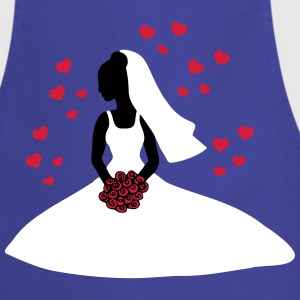 bride 1  Aprons - Cooking Apron