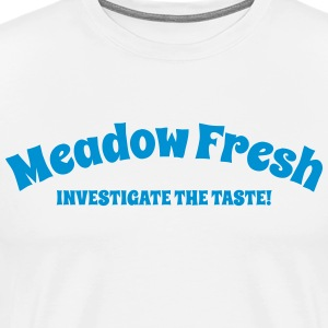 Meadow Fresh Logo - Männer Premium T-Shirt