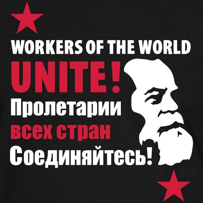 Marxist Workers Contrast Tee