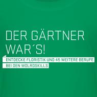 Design ~ Der Gärtner war's Kids' T-Shirt