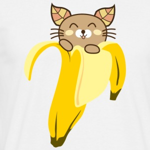 Tee shirt Homme Banana Cat - T-shirt Homme