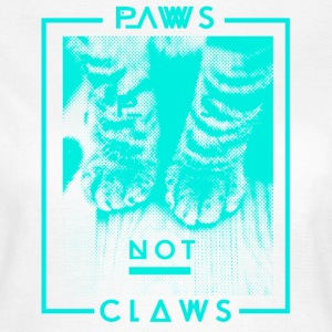 Paws not Claws Women's T-Shirt - Women's T-Shirt