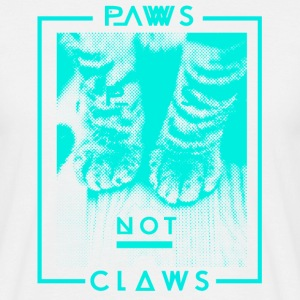 Paws not Claws Men's T-Shirt - Men's T-Shirt