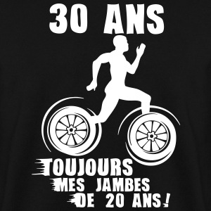 30 ans jambes course sprinter athlete 20 Sweat-shirts - Sweat-shirt Homme
