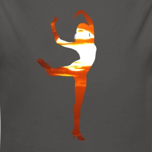 Dancer dancing in the sunset Hoodies - Longlseeve Baby Bodysuit