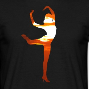 danse Dancer in the sunset Tee shirts - T-shirt Homme