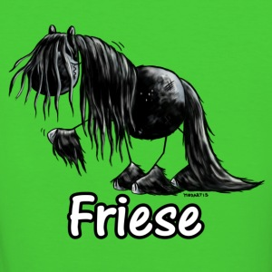 Lustiges Friesenpferd - Friese - Pferd T-Shirts - Frauen Bio-T-Shirt