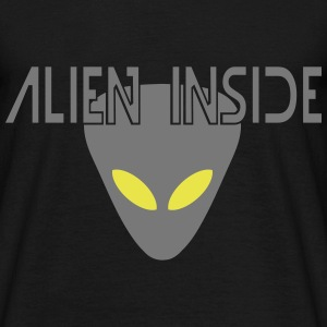 alien inside T-Shirts - Men's T-Shirt