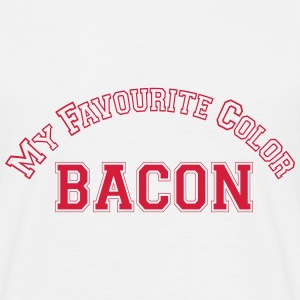 my favourite color bacon T-Shirts - Men's T-Shirt