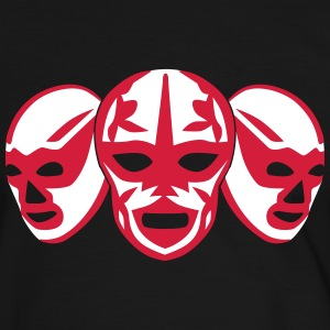 lucha libre masks Tee shirts - T-shirt contraste Homme