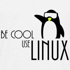 be cool gebruik linux T-shirts - Mannen T-shirt